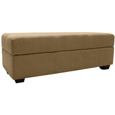 Grace Storage Ottoman Upholstery: Suede Khaki