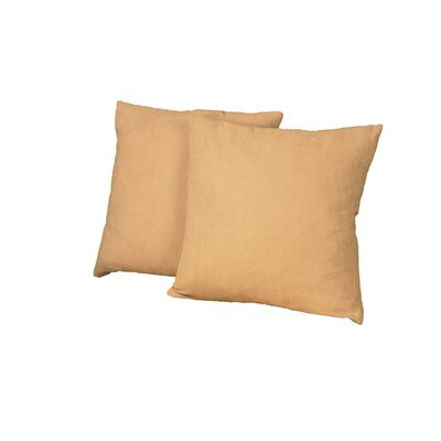 Gordon Throw Pillow Color: Suede Sand