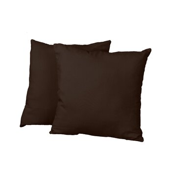 Gordon Throw Pillow Color: Twill Brown