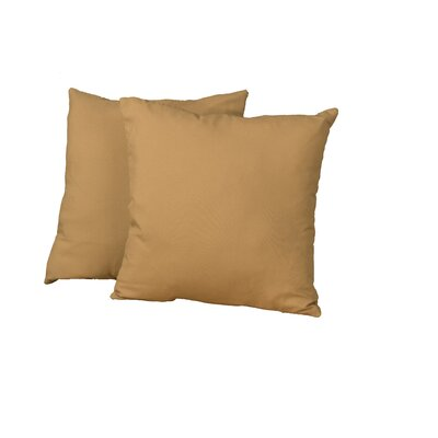 Gordon Throw Pillow Color: Twill Khaki