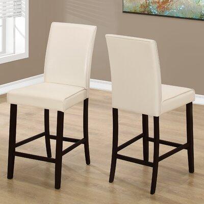 Williamsburg 24 Bar Stool Bar Stool Upholstery: Ivory