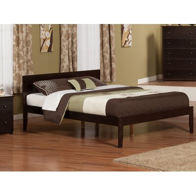 Lewis King Platform Bed Color: Espresso