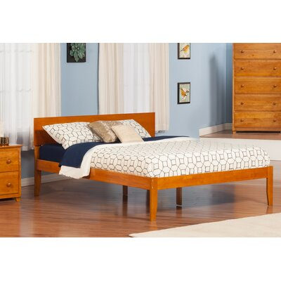 Lewis King Platform Bed Finish: Caramel Latte