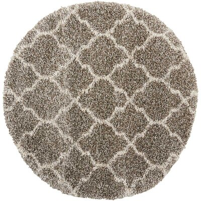 Linton Stone Area Rug Rug Size: Round 710