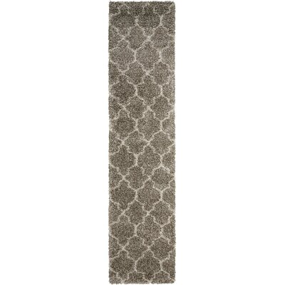 Linton Stone Area Rug Rug Size: Runner 22 x 10