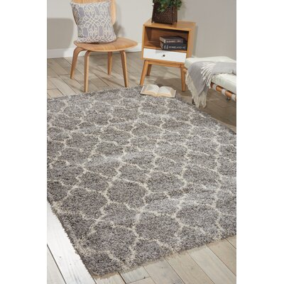 Linton Ash Area Rug Rug Size: Rectangle 53 x 75