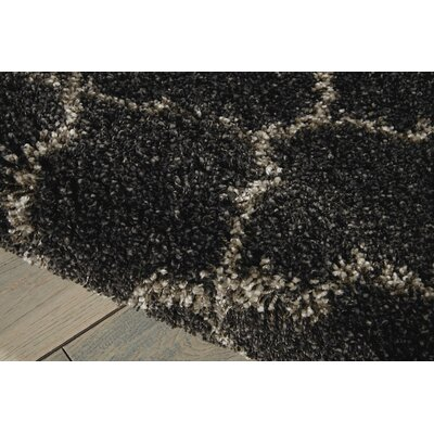 Linton Charcoal Area Rug Rug Size: Square 67