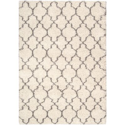 Linton Ivory Area Rug Rug Size: Rectangle 53 x 75