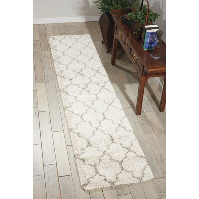 Linton Ivory Area Rug Rug Size: Runner 22 x 10