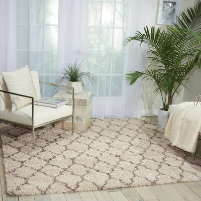 Linton Ivory Area Rug Rug Size: Round 311