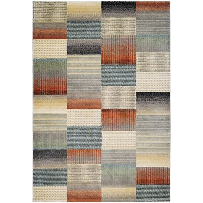 Fred Beige/Gray Area Rug Rug Size: Runner 27 x 710