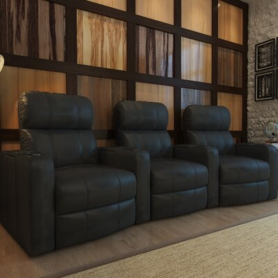 Home Theater Recliner (Row of 3) Type: Manual