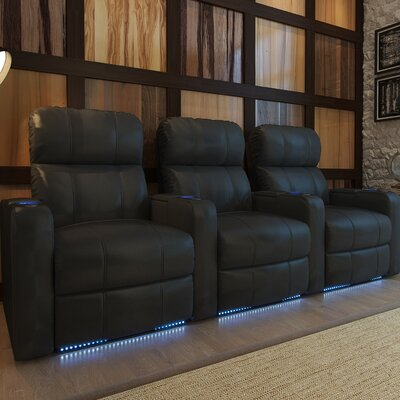 Home Theater Recliner (Row of 3) Type: Power