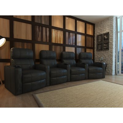 Home Theater Recliner (Row of 4) Type: Manual