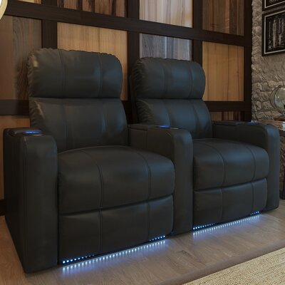 Home Theater Recliner (Row of 2) Type: Power
