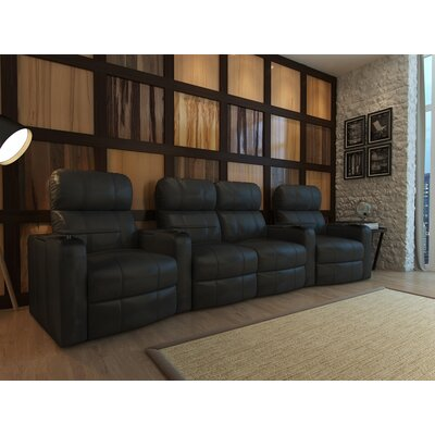 Home Theater Loveseat (Row of 4) Type: Manual
