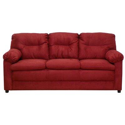 Mcallister Sofa Upholstery: Bulldozer Burgundy