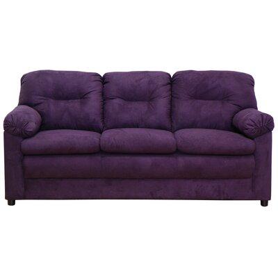 Mcallister Sofa Upholstery: Bulldozer Eggplant