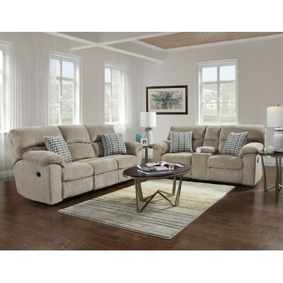 Red Barrel Studio RDBL5275 Melville Console Sofa and Console Loveseat Set