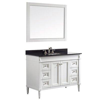 Morris 48 Single Vanity Set with Mirror