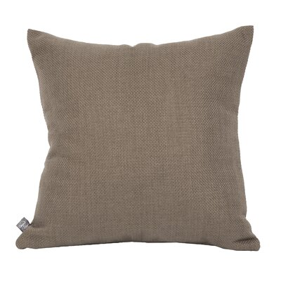 Burcham Khaki Throw Pillow