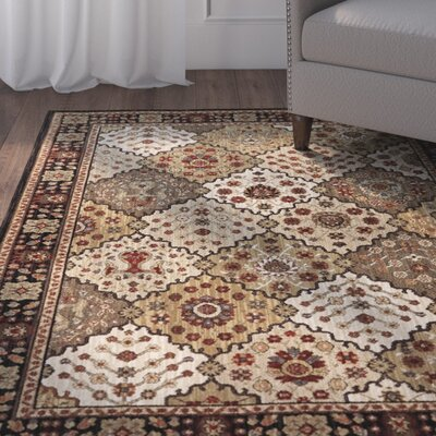 Rossville Brown Area Rug