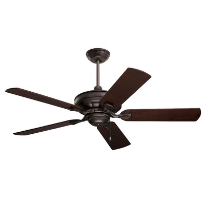 52 Middleport 5 Blade Ceiling Fan Finish: Oil Rubbed Bronze