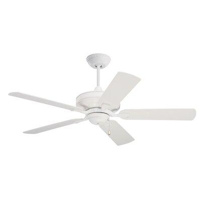 52 Middleport 5 Blade Ceiling Fan Finish: Summer White