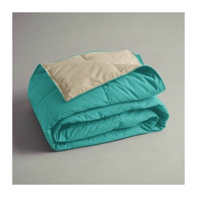 Gradall Cuddly Companion Throw Color: Turquoise/Tan