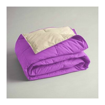 Gradall Cuddly Companion Throw Color: Orchid/Tan
