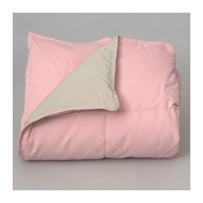 Gradall Cuddly Companion Throw Color: Pink/Tan