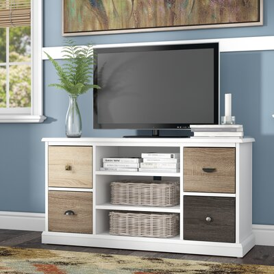 Snowy Mountain 47 TV Stand Color: White