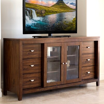 Linglestown Multi-Use 65 TV Stand Color: Acacia Brown