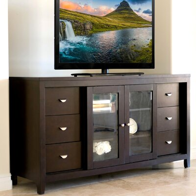 Linglestown Multi-Use 65 TV Stand Color: Espresso