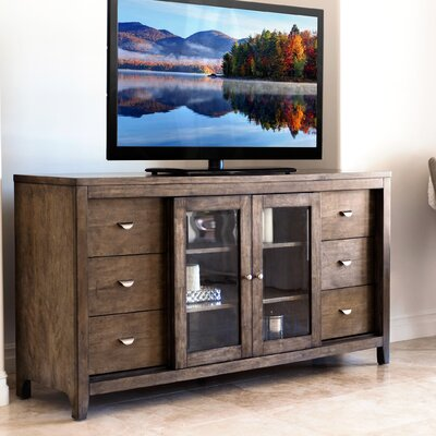 Linglestown Multi-Use 65 TV Stand Color: Weathered Oak