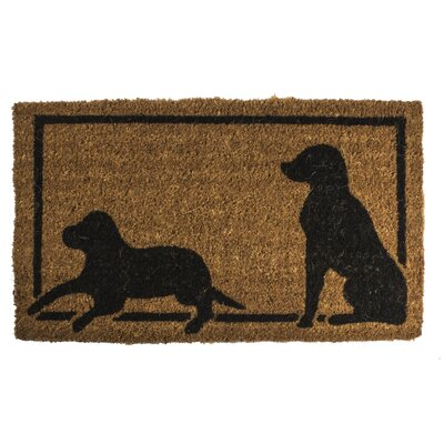 Lattimer Dog Silhouettes Doormat