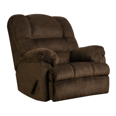 Merion Rocker Recliner Type: Manual, Upholstery: Mocha
