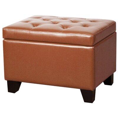 Kimbler Tufted Ottoman Upholstery: Pumpkin