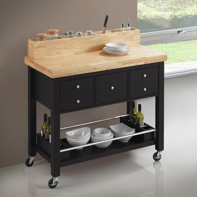 Iron Horse Kitchen Island Base Finish: Black