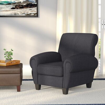 Whittemore Armchair Upholstery: Dark Charcoal