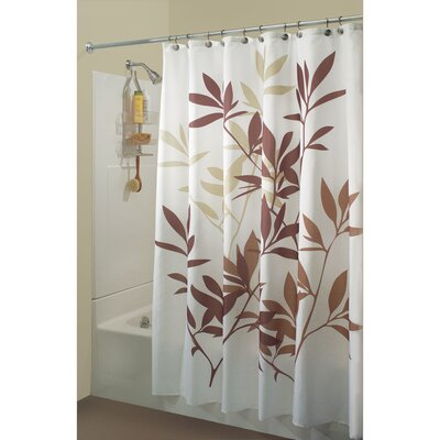 Lantz Shower Curtain Color: Brown/Tan