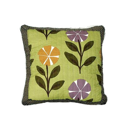 Constance Colorful Summer Day Party 100% Cotton Pillow Cover
