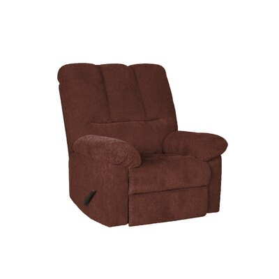 Rooney Manual Rocker Recliner Upholstery: Wine