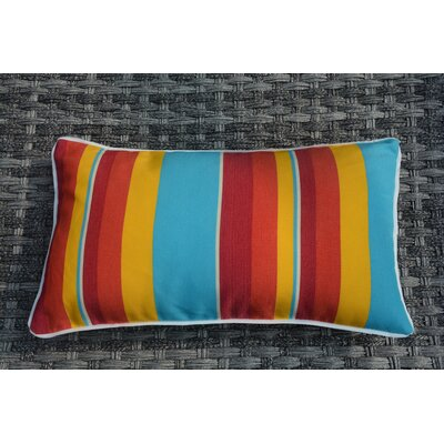 Bedford Striped Outdoor Lumbar Pillow