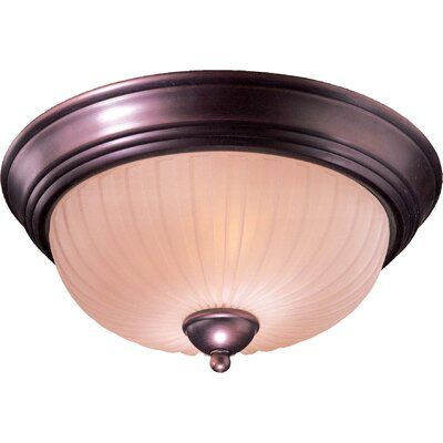 Beckemeyer 2-Light Flush Mount