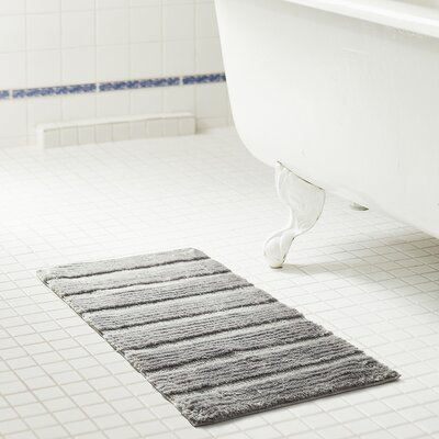 Middlefield Bath Rug Color: Gray, Size: 32 H x 20 W