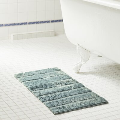 Middlefield Bath Rug Color: Wedgewood, Size: 32 H x 20 W