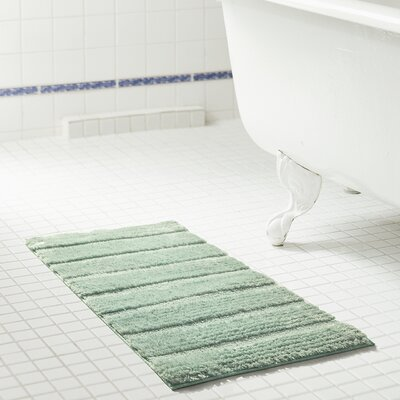 Bellevue 2-Piece Microfiber Bath Rug Set Color: Seaglass