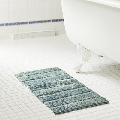 Bellevue 2-Piece Microfiber Bath Rug Set Color: Wedgewood