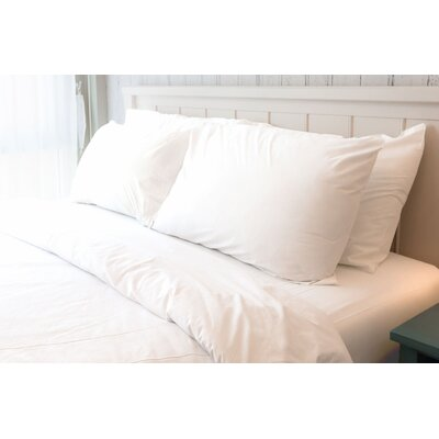 Melvin American Classic 180 Thread Count Sheet Set Size: King, Color: White